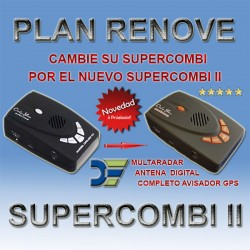 Plan Renove Avisador+Detector de radares Onlyyou Supercombi II