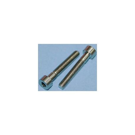 Tornillos de Titanio M4x25mm allen DIN912