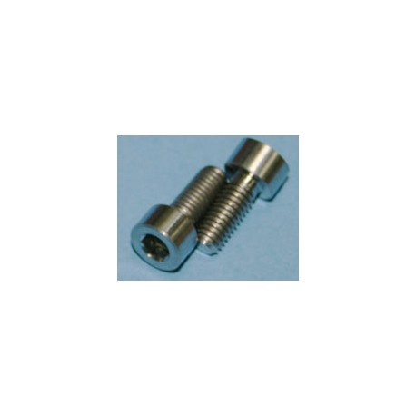Tornillos de Titanio M5x10mm allen DIN912