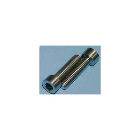 Tornillos de Titanio M6x25mm allen DIN912