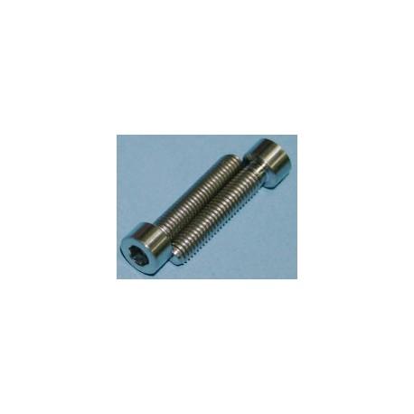 Tornillos de Titanio M6x30mm allen DIN912