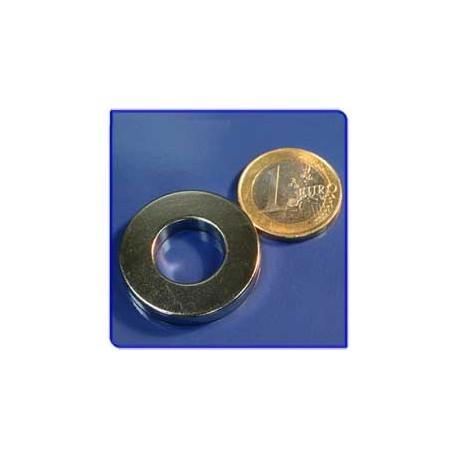 Imán de neodimio Ref. A04 Anillo D12x8mm