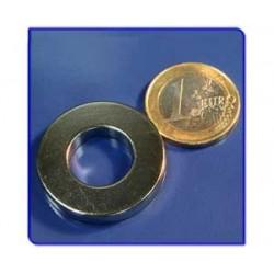Imán de neodimio Ref. A04 Anillo D30D15x5mm Pack 100