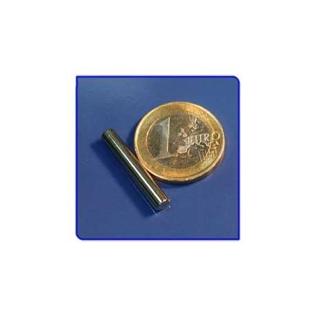 Imán de neodimio Ref. B03 Barra 4x25 mm