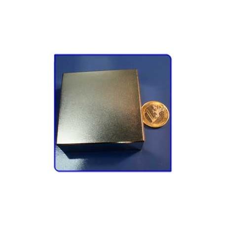 Imán de neodimio Ref. Bl07 Bloque 60x60x20mm