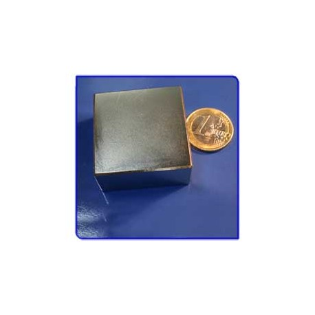 Imán de neodimio Ref. Bl06 Bloque 40x40x20mm