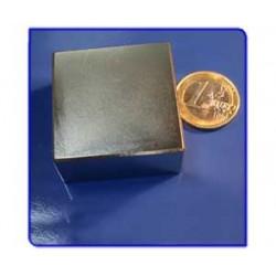 Imán de neodimio Ref. Bl06 Bloque Acabado en Oro40x40x20m Pack 100