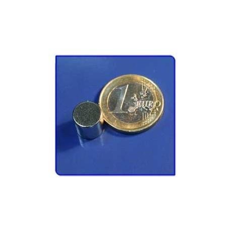 Imán de neodimio Ref. D052 Disco 10x6mm