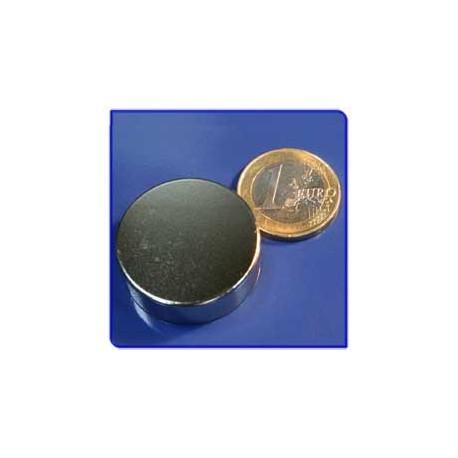 Imán de neodimio Ref. D11 Disco 30x10mm