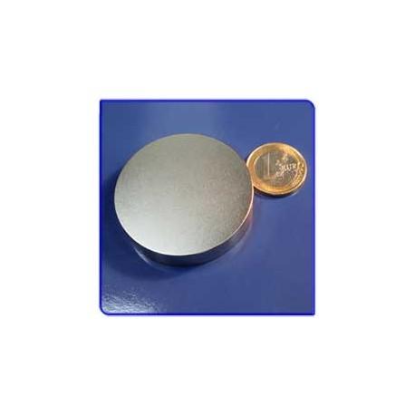 Imán de neodimio Ref. D12 Disco 50x10mm