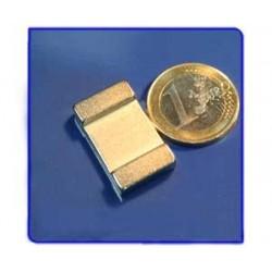 Imán de neodimio Ref. V02 Placa 25x15x5 mm