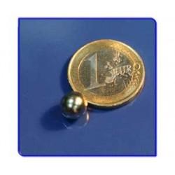 Imán de neodimio Ref. E02 Esfera D8mm Pack 10