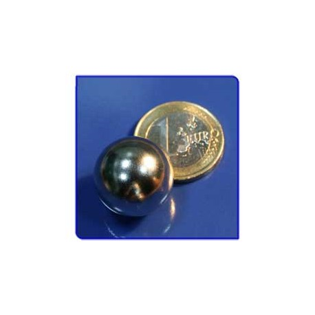 Imán de neodimio Ref. E04 Esfera D19mm