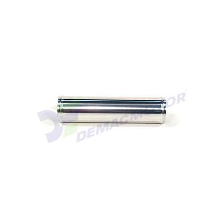 "Tubo Aluminio recto, 57mm diámetro (2.25"") y 300mm de longitud"