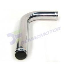 """Tubo de Aluminio en """"L"""", 51mm diámetro (2"""")"""