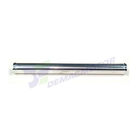 """Tubo de Aluminio recto, 57mm diámetro (2.25"""") y 500mm de longitud"""