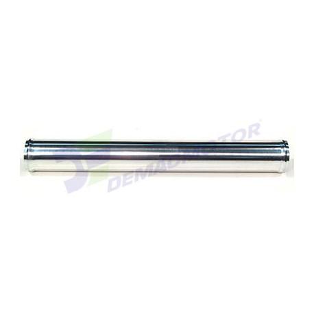 """Tubo de Aluminio recto, 64mm diámetro (2,5"""") y 500mm de longitud"""