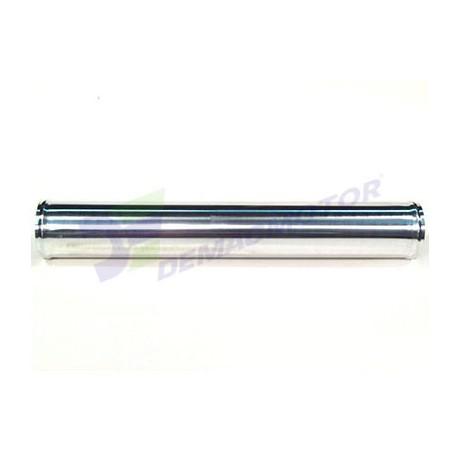 """Tubo de Aluminio recto, 76mm diámetro (3"""") y 500mm de longitud"""