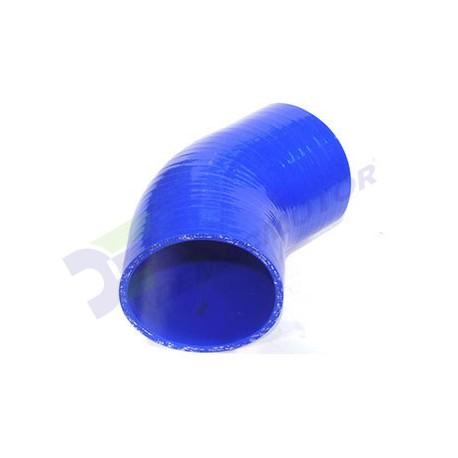 """Codo de Silicona 45º, Ø89mm (3,5"""")"""