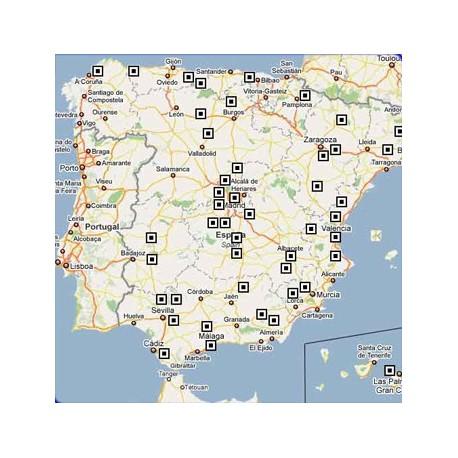 Cartografía para Onix (España, Portugal y Andorra)