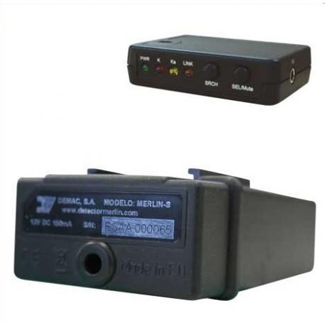 Detector Merlín S Bluetooth + Consola Bluetooth