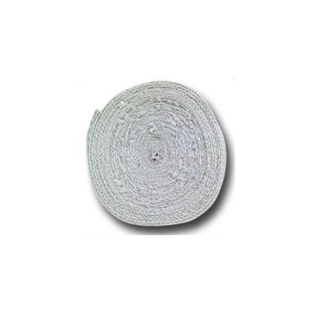 Cinta Térmica (exhaust wrap) Blanca 10m