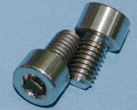 Tornillos de Titanio M6x10mm allen DIN912