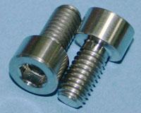 Tornillos de Titanio M6x12mm allen DIN912