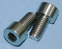 Tornillos de Titanio M8x15mm allen DIN912