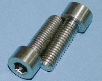 Tornillos de Titanio M8x25mm allen DIN912