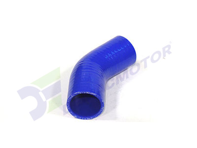 Medidas del codo de silicona 45° y 45mm de diámetro interno