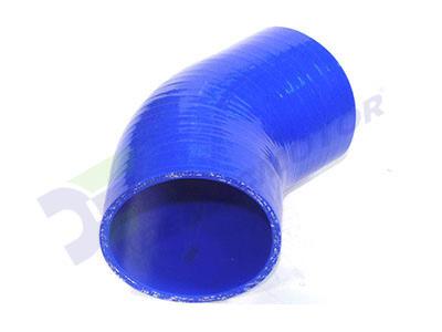 Imagen del codo de silicona 45° y 89mm de diámetro interno