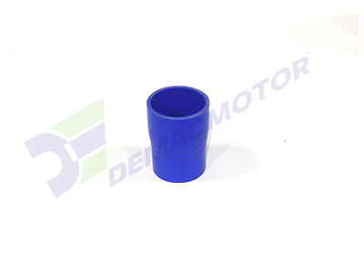 Imagen del manguito reductor de silicona de 57mm a 45mm de diámetro interno