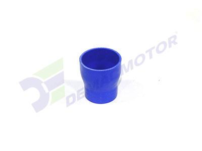 Imagen del manguito reductor de silicona de 64mm a 51mm de diámetro interno