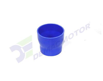 Imagen del manguito reductor de silicona de 76mm a 64mm de diámetro interno