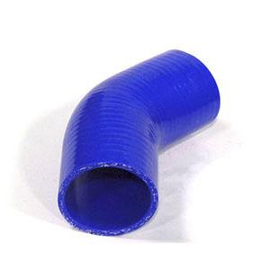 Codo de silicona de 45° y 64mm