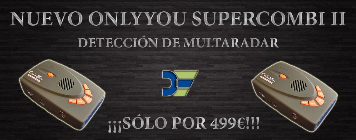 Nuevo Onlyyou Supercombi II con detección de Multaradar